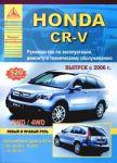 Руководство по ремонту Honda CR-V начиная с 2006 года выпуска