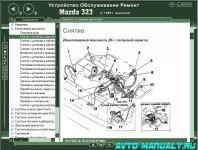 Устройство, обслуживание и ремонт Mazda 323