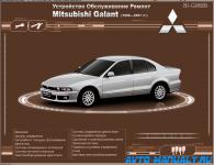Мультимедийное руководство по ремонту и эксплуатации Mitsubishi Galant