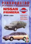 Руководство по ремонту и эксплуатации Nissan Primera
